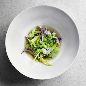 Green salad Blenheim Restaurant