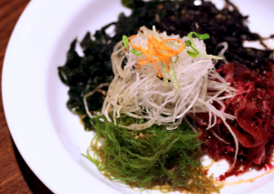 souen lunch seaweed plate